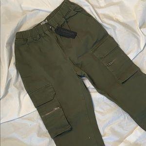 Carmar Olive Green Camo Pants